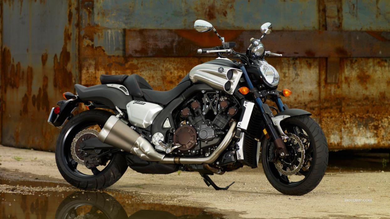 Yamaha VMAX 2012 moto wallpaper | 3840x2160 | 1292664 | WallpaperUP
