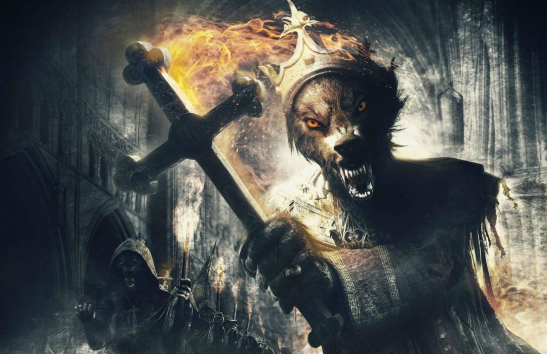 POWERWOLF power wolf heavy metal thrash death dark horror evil wallpaper
