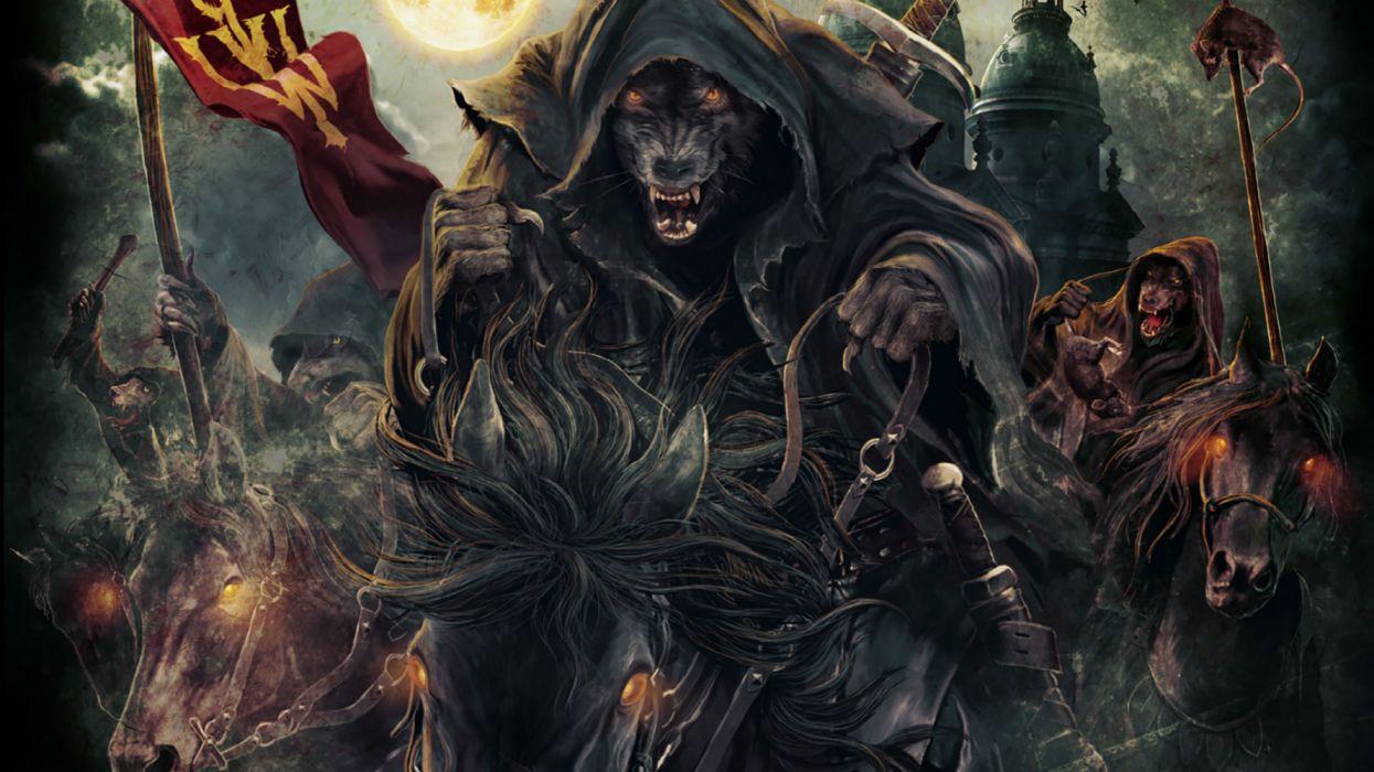 Powerwolf Power Wolf Heavy Metal Thrash Death Dark Horror