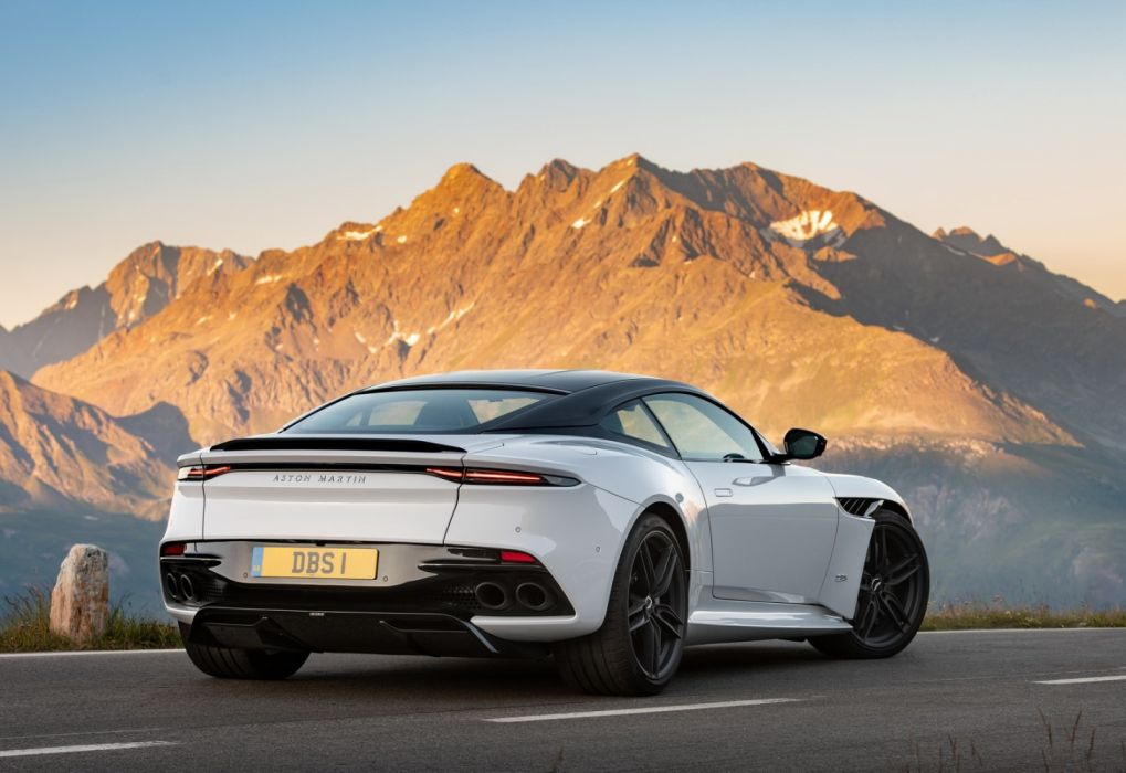 Aston Martin Dbs Superleggera White Stone 2019 Wallpaper