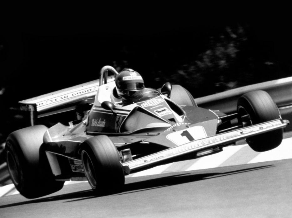Ferrari 312 T2 1976 Classic Race Car Formula One wallpaper
