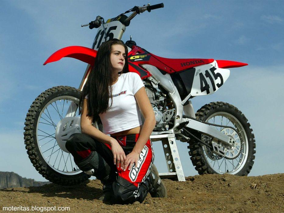 honda crf 450 enduro motos chicas motocross wallpaper