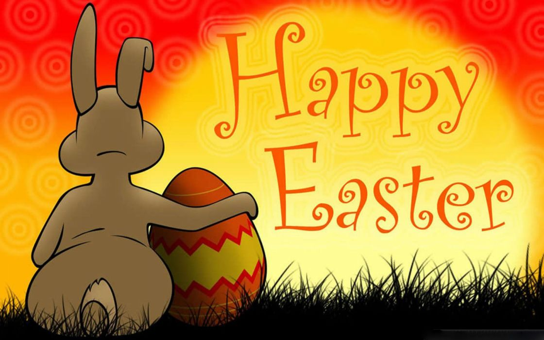 happy easter rabbit huevo wallpaper