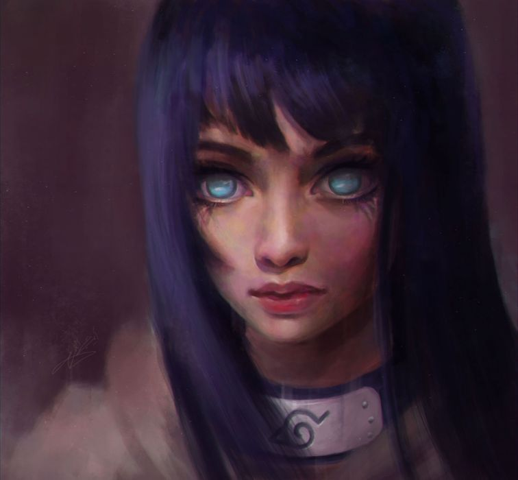 blue eyes beauty naruto girl Girl with blue hair and blue eyes wallpaper