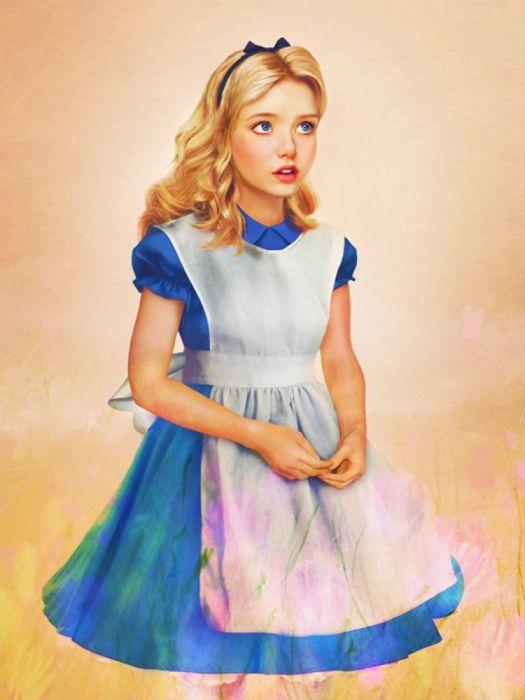 children drawings fairy tales wallpaper