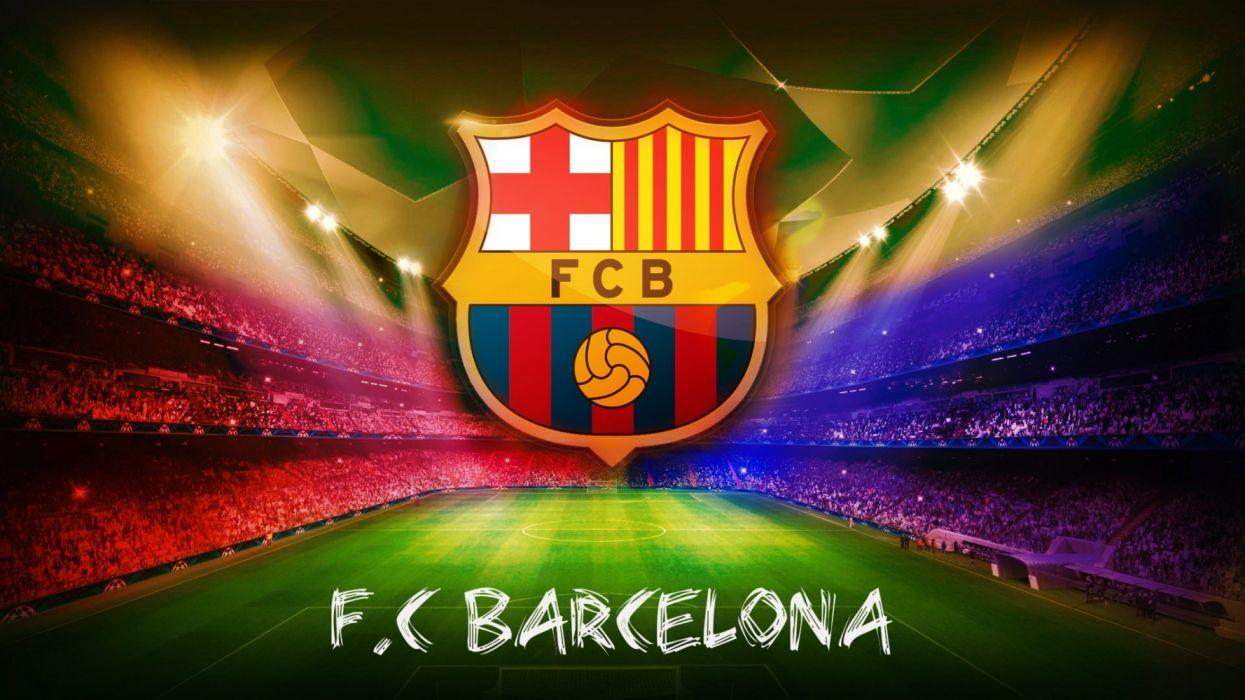 fc barcelona escudo estadio nou camp wallpaper