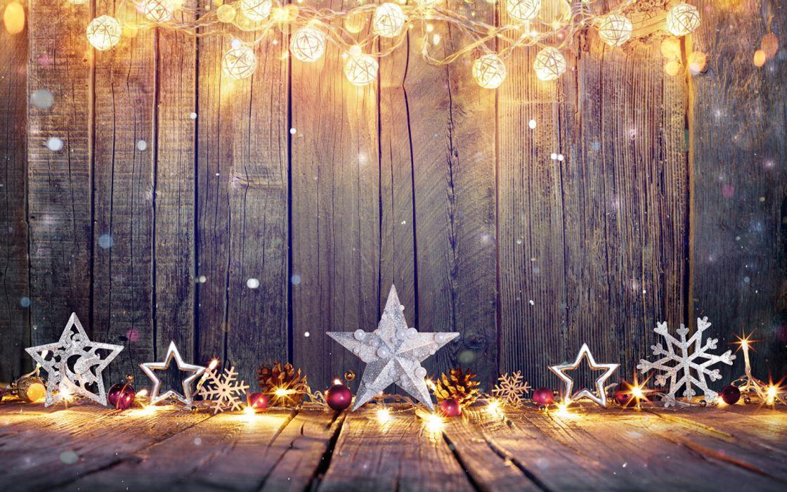 Holidays Christmas estrellas adornos wallpaper