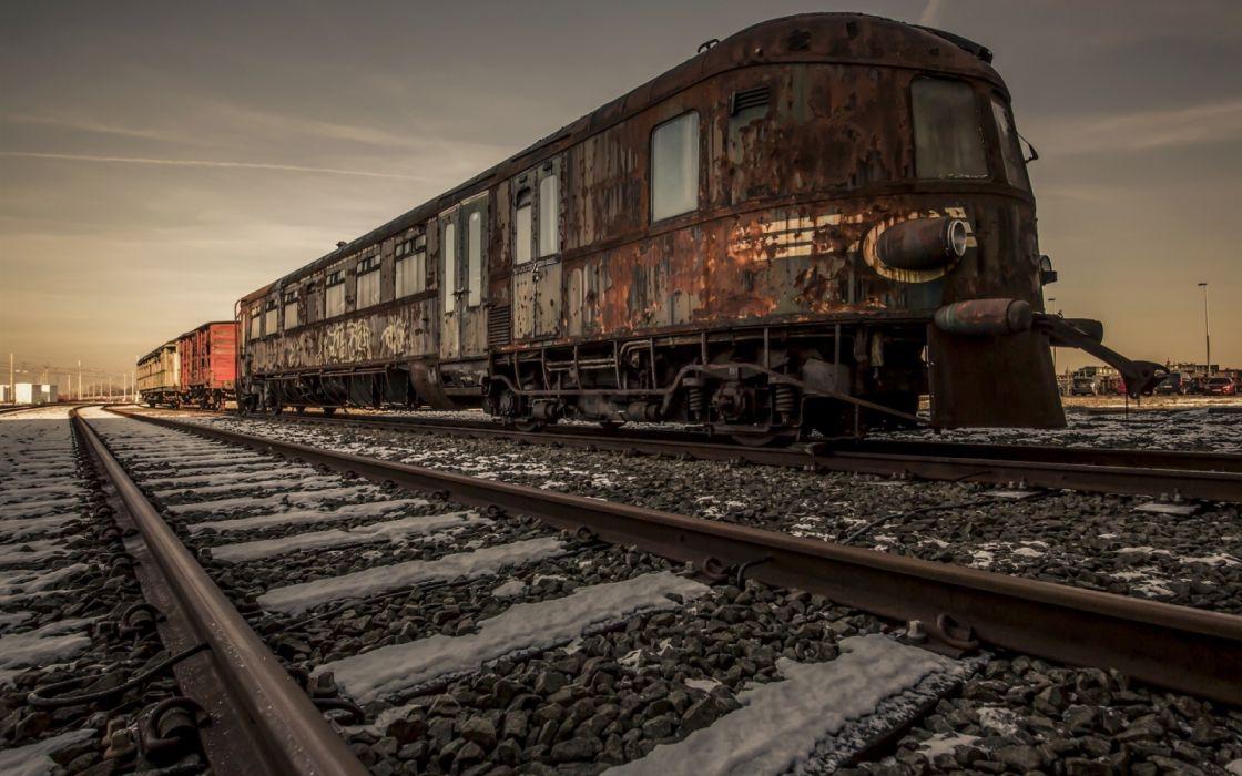 Old Train Railway Vintage Wallpaper 1920x1200 1300697