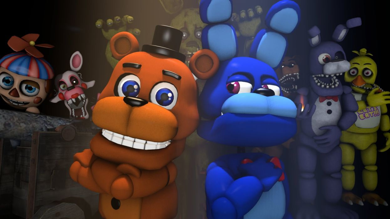 Five Nights At Freddy 039 S Wallpaper 1920x1080 1300812