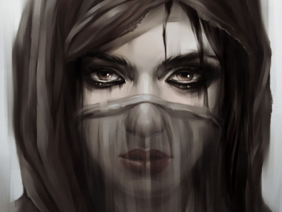 Sad Girls Black And White Wallpaper 1600x1200 1301304 Wallpaperup