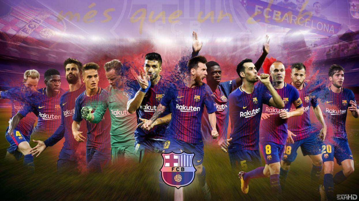 Fc Barcelona 2017 18 Wallpaper 2176x1224 1301438