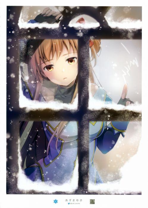 Yuki Azuma Mangaka LEAF (Studio) Studio Seven Arcs Studio AQUAPLUS Studio Powder Snow Artbook wallpaper
