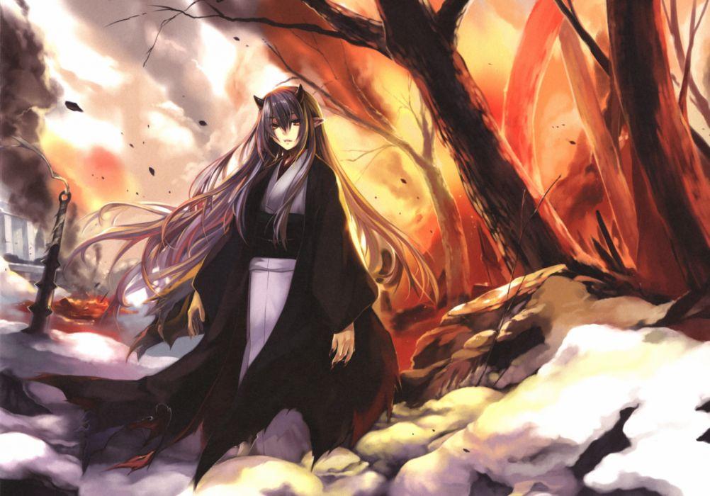 Yuki Hiiro Mangaka Kimono-e Ni Artbook Comic Market 93 Source anime wallpaper