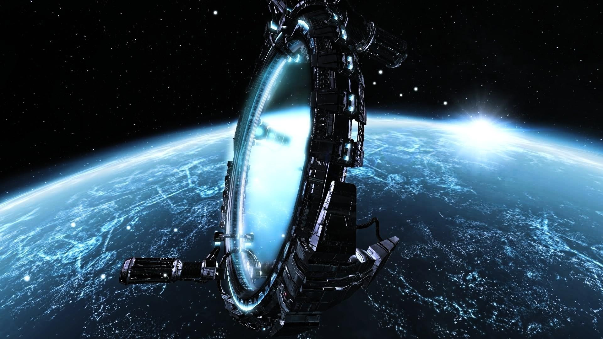 Nave Espacial Planeta Sci Fi Wallpaper 1920x1080 1302652