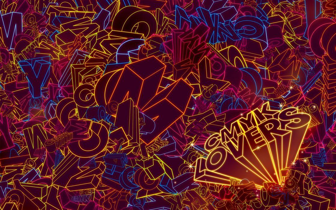 abstracto texto cmnk lovers wallpaper