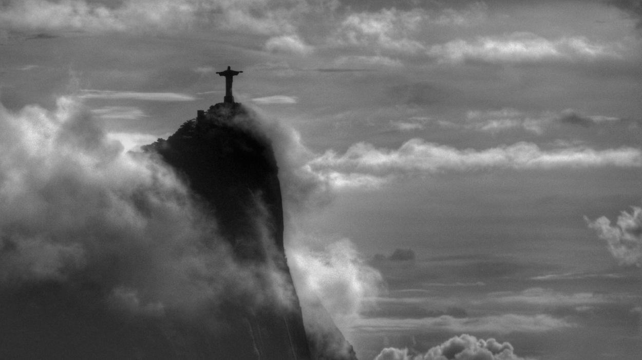 The Redeemer Rio de Janeiro Brazil by Custodio Coimbra wallpaper