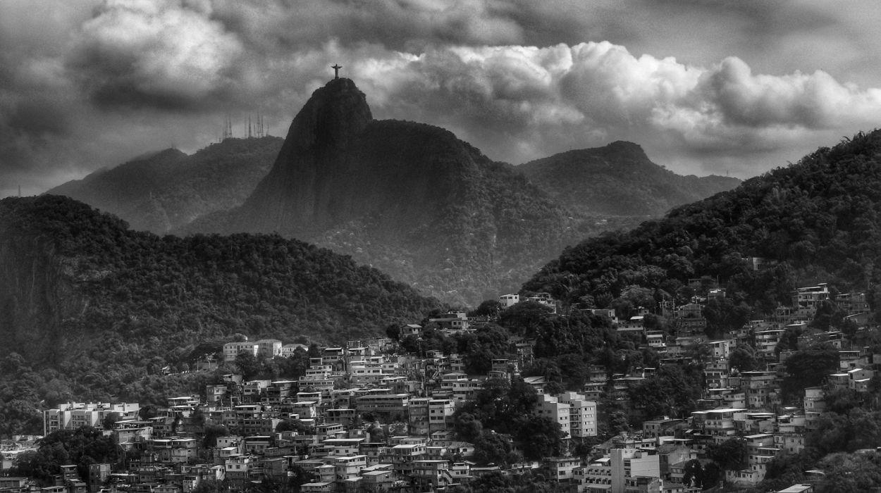 The Redeemer Rio de Janeiro Brazil wallpaper