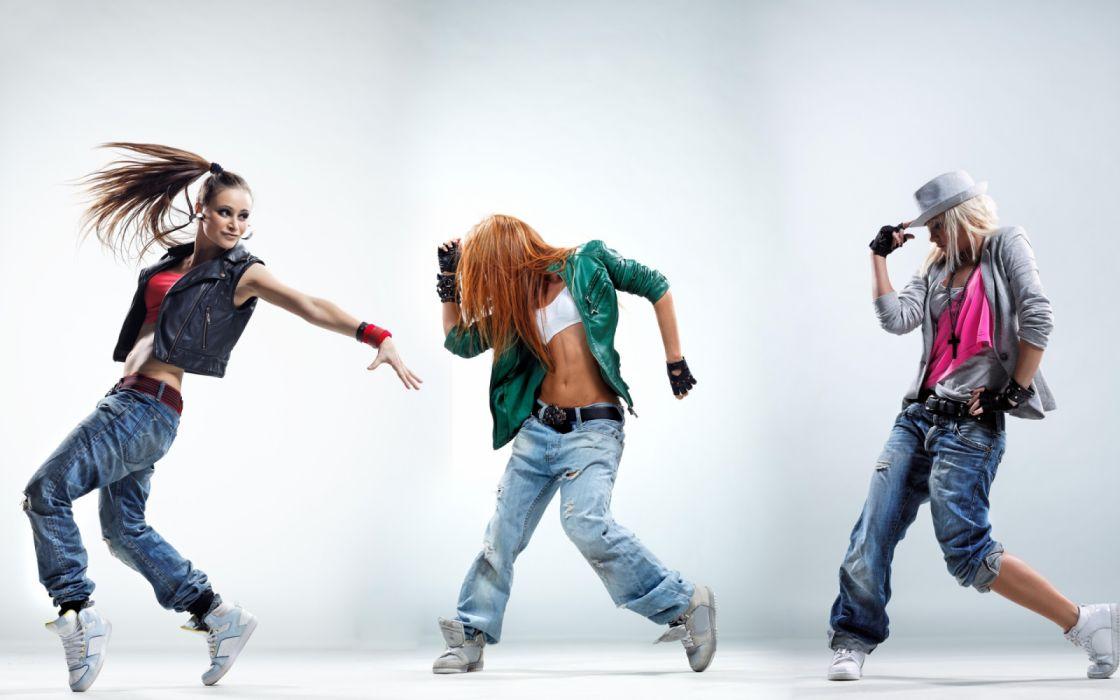 dance hiphop girls beautiful widescreen wallpaper