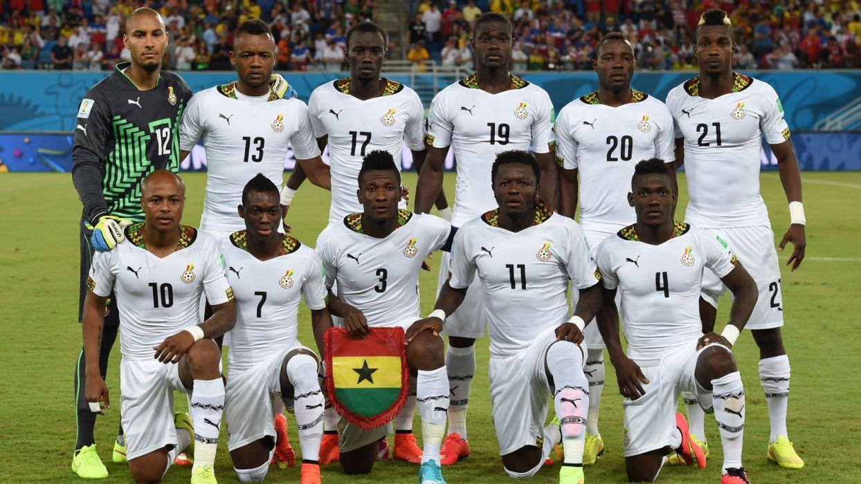 Ghana National Football Team Zoom Background 2