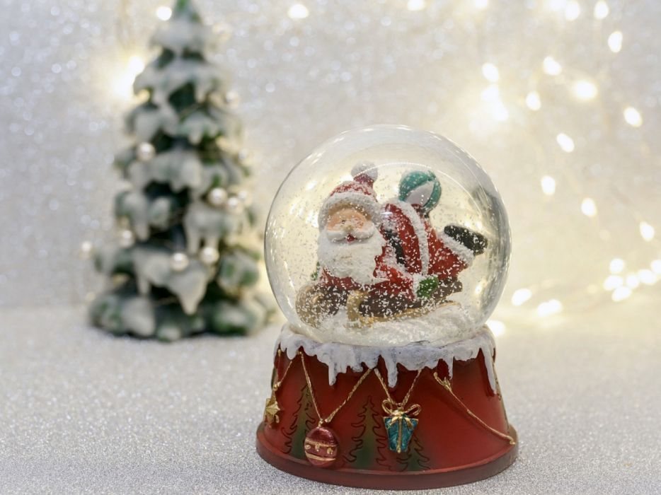 snow ball santa claus christmas fun decoration christmas motif ball christmas time christmas greeting christmas card greeting card atmospheric mood emotions atmosphere nicholas wallpaper
