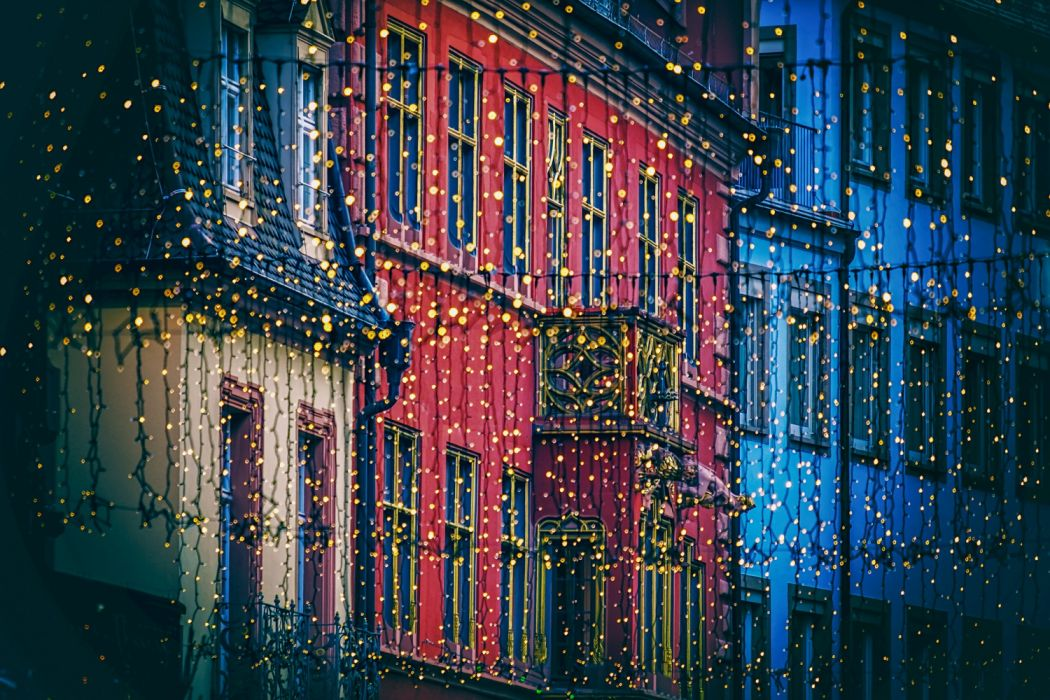 lichterkette christmas decorations lighting lights light bulbs freiburg streets illuminated advent christmas time christmas decoration christmas motif christmas christmas card christmas greeting wallpaper