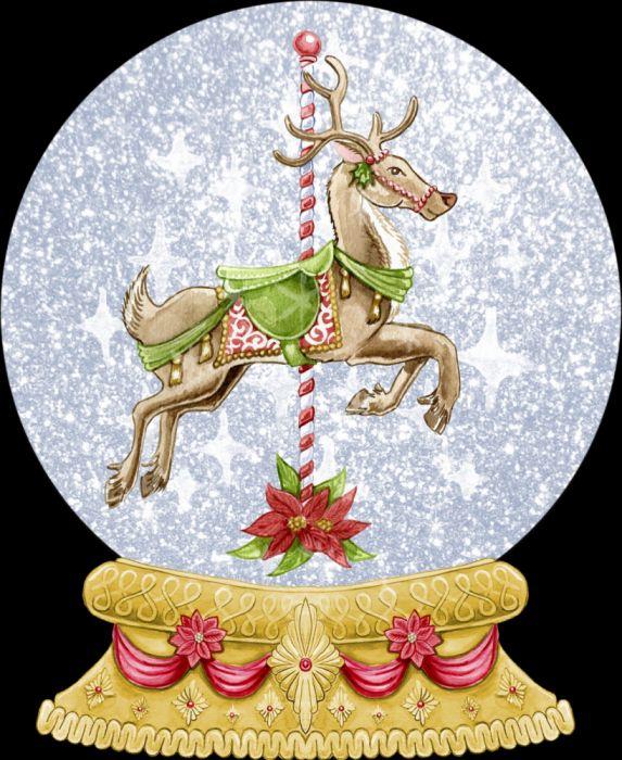 snow globe christmas cute wallpaper