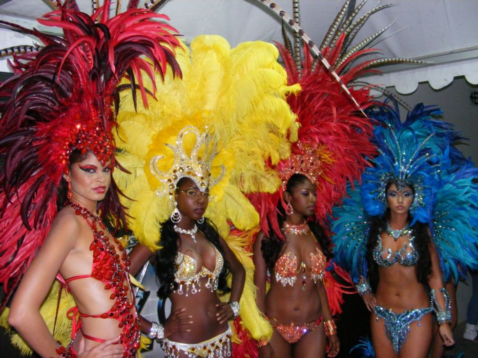 holiday carnaval rio brasil bailarinas wallpaper