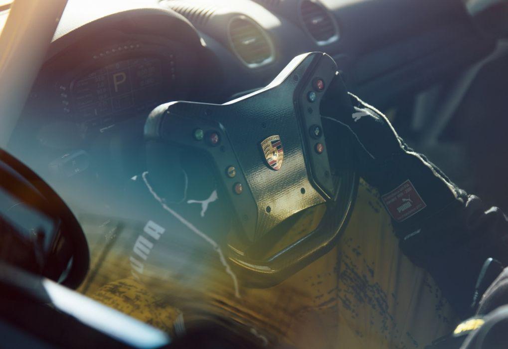 Porsche 718 Cayman GT4 Clubsport (2019) wallpaper