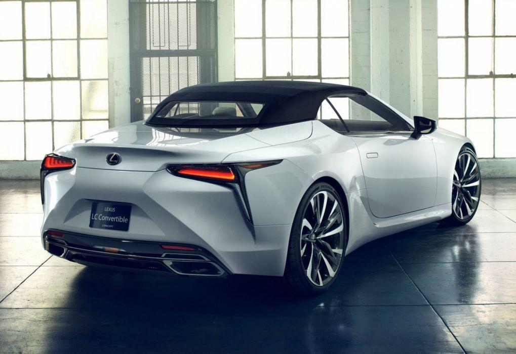 Lexus Lc Convertible Concept 2019 Wallpaper 1600x1100