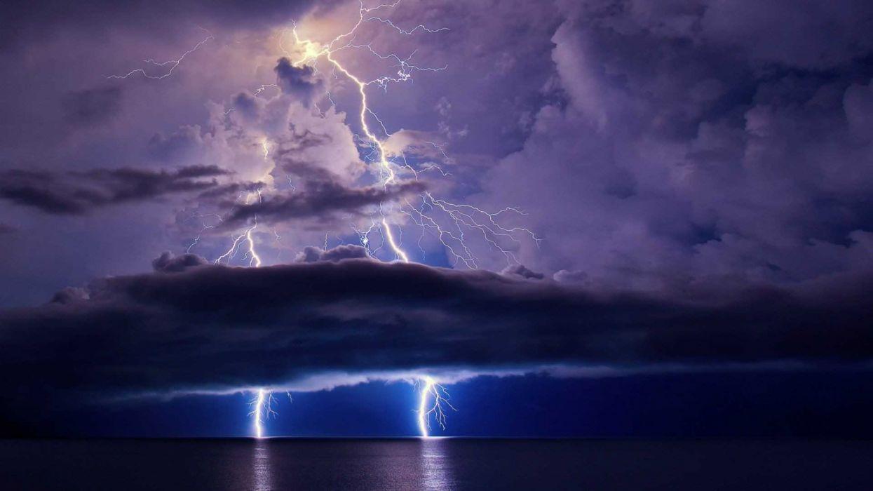 tormenta electrica naturaleza wallpaper