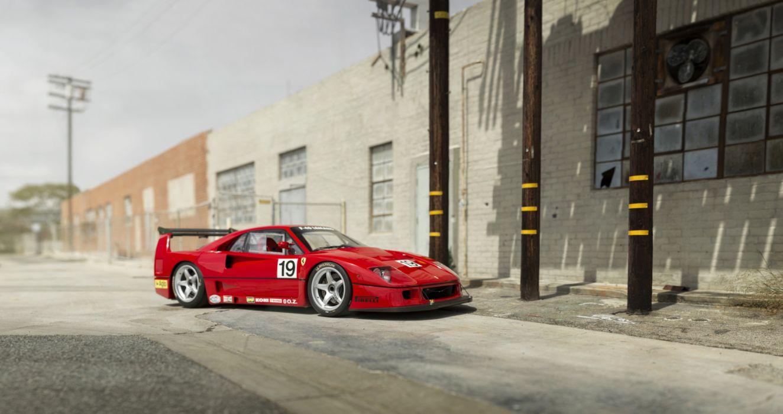 Ferrari F40 LM Michelotto 1988 wallpaper