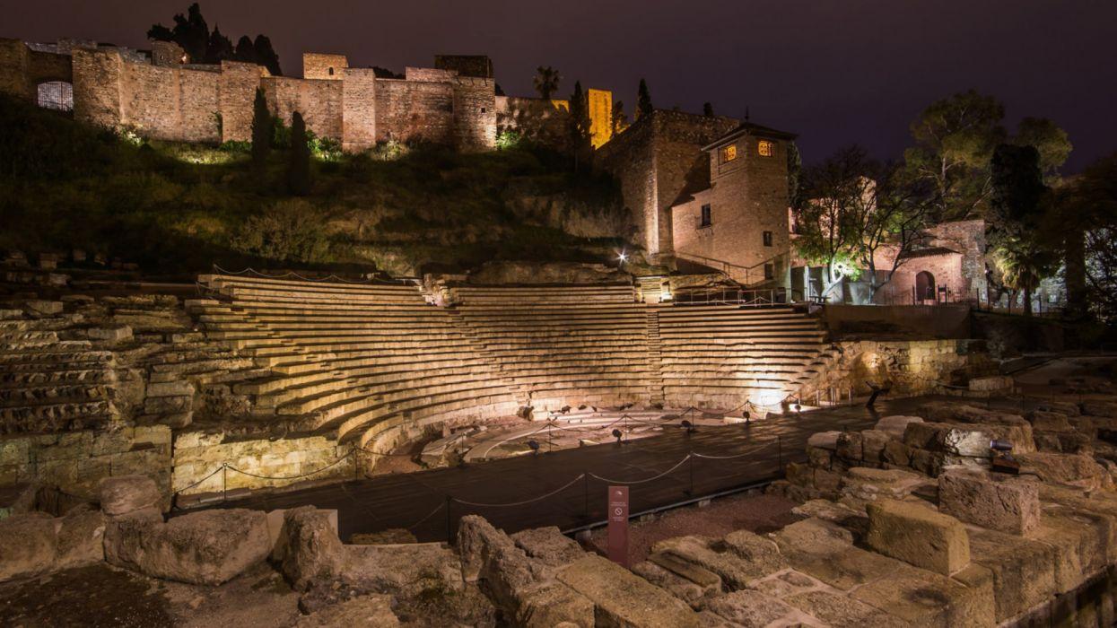 Rome Theater Ancient Rome Architecture Wallpaper 5120x2880