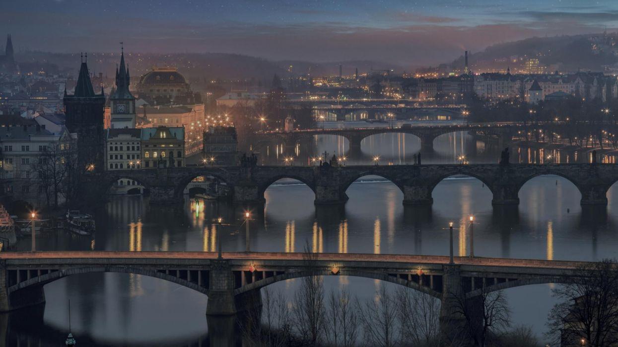Czech Republic Charles Bridge wallpaper