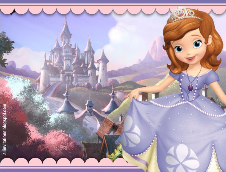 Princesa sofia cartoons wallpaper