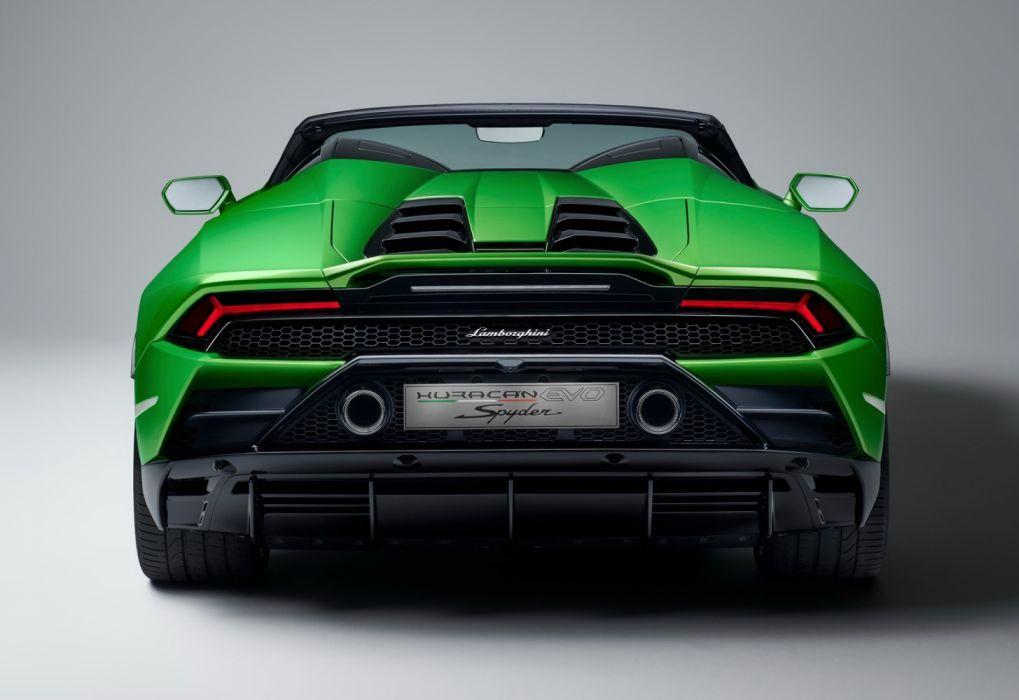 Lamborghini Huracan Evo Spyder 2019 Wallpaper 1600x1100