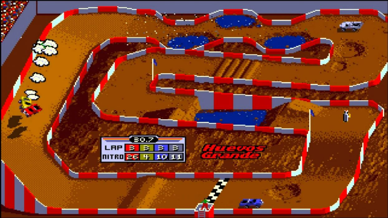 Ivan Ironman Stewarts Super Off Road classic games wallpaper