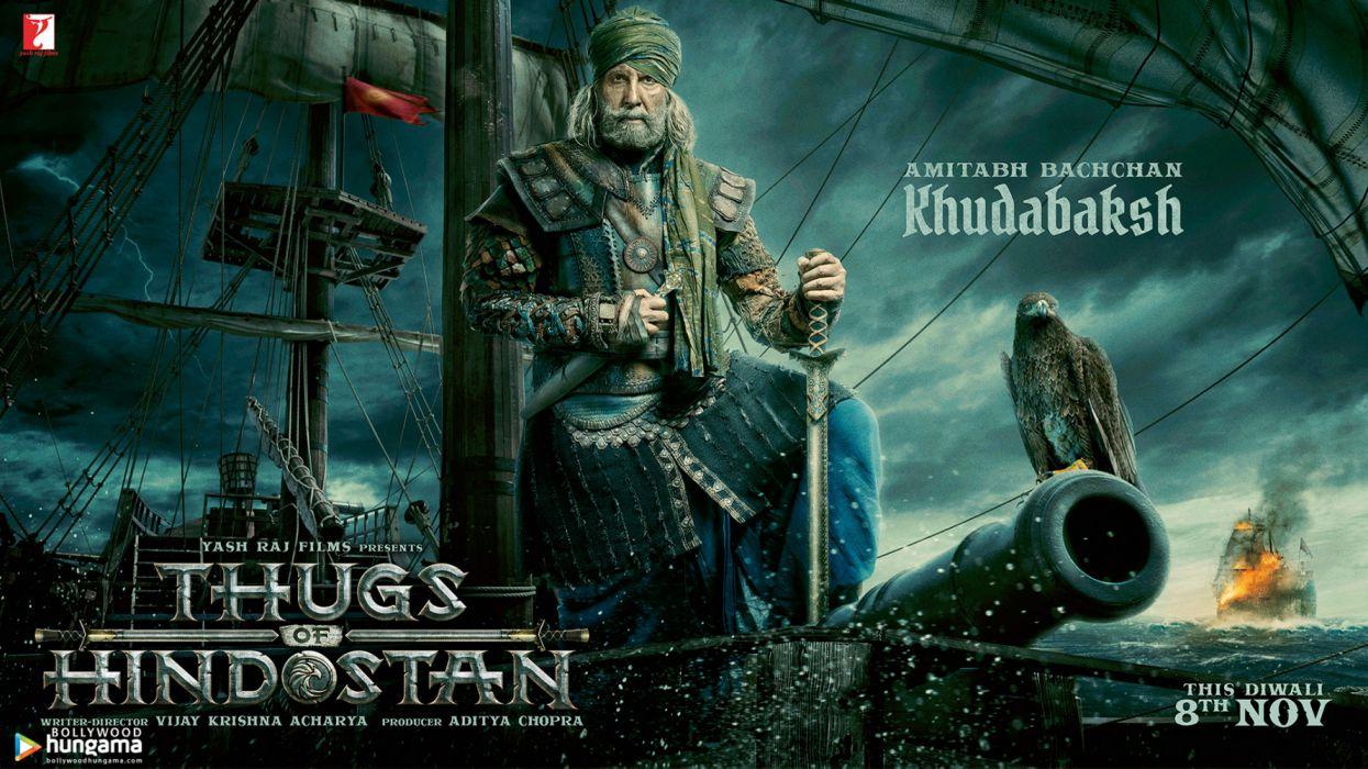 Thugs of Hindostan videogames wallpaper
