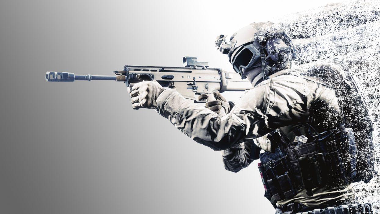 Battlefield particle disappear effect wallpaper