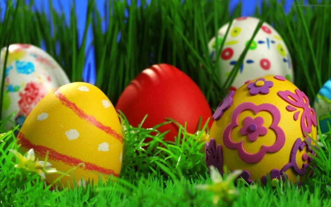 huevos pascua pintados holiday wallpaper
