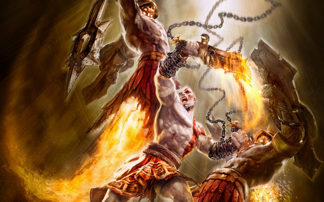 God Of War Chains Of Olympus 2 Wallpaper 1920x1200