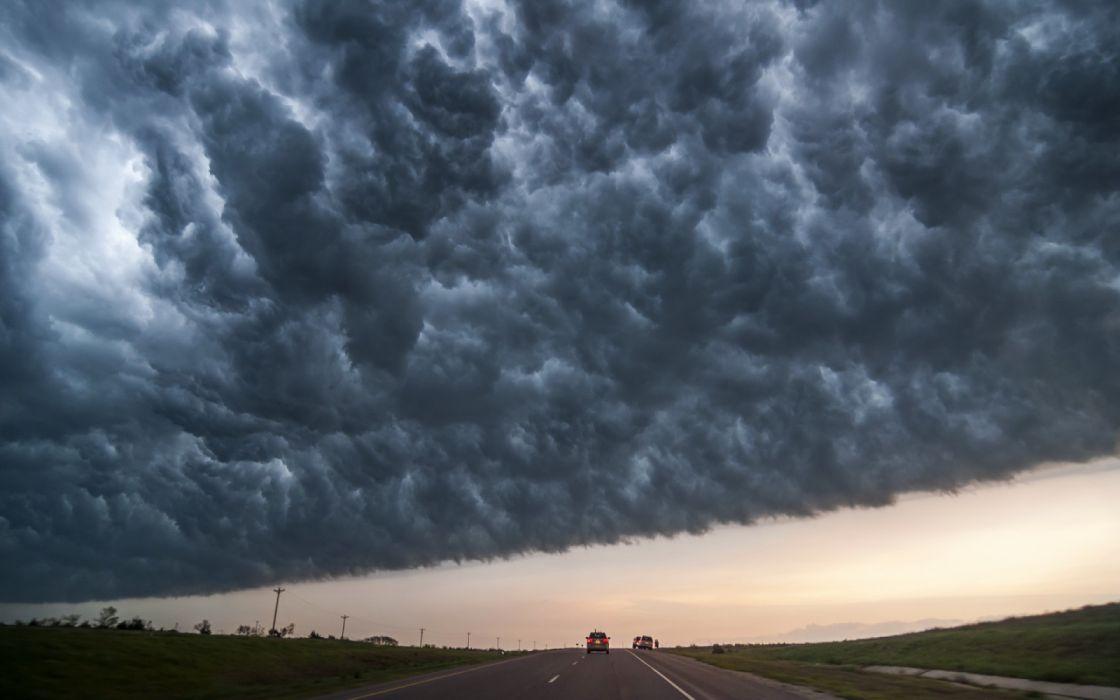 cielo tormentas nubes naturaleza wallpaper