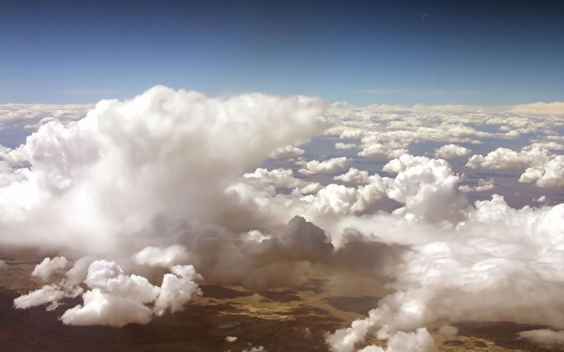 cielo nuboso naturaleza wallpaper