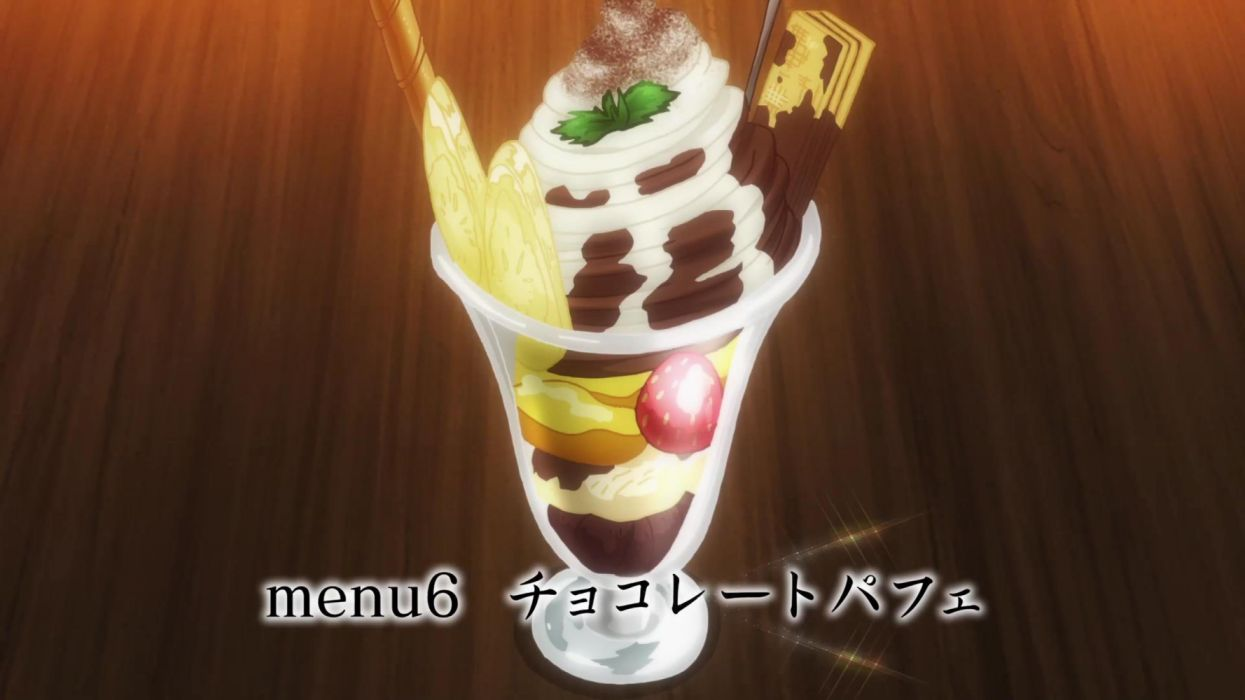 Chocolate Parfait Restaurant To Another World Ep 3 V1 Wallpaper