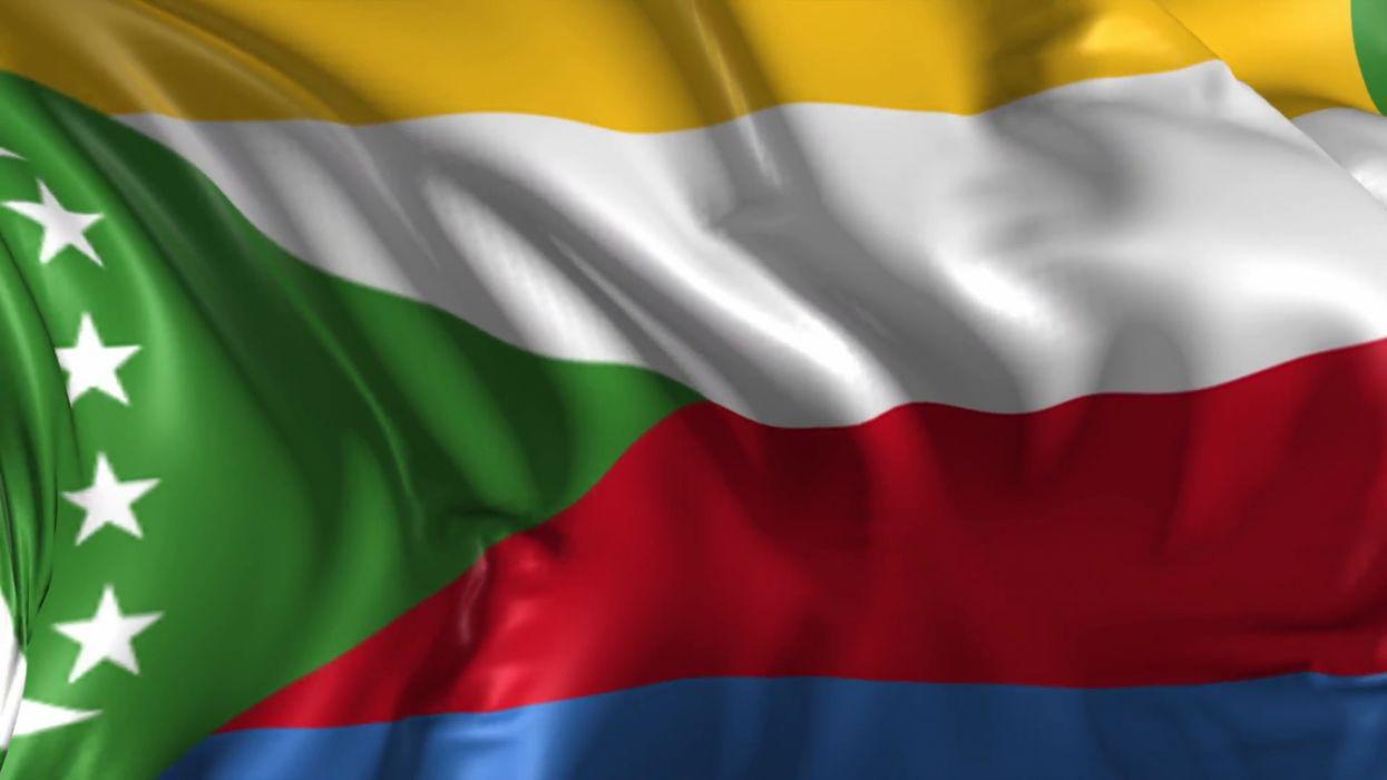 bandera comoros africa wallpaper