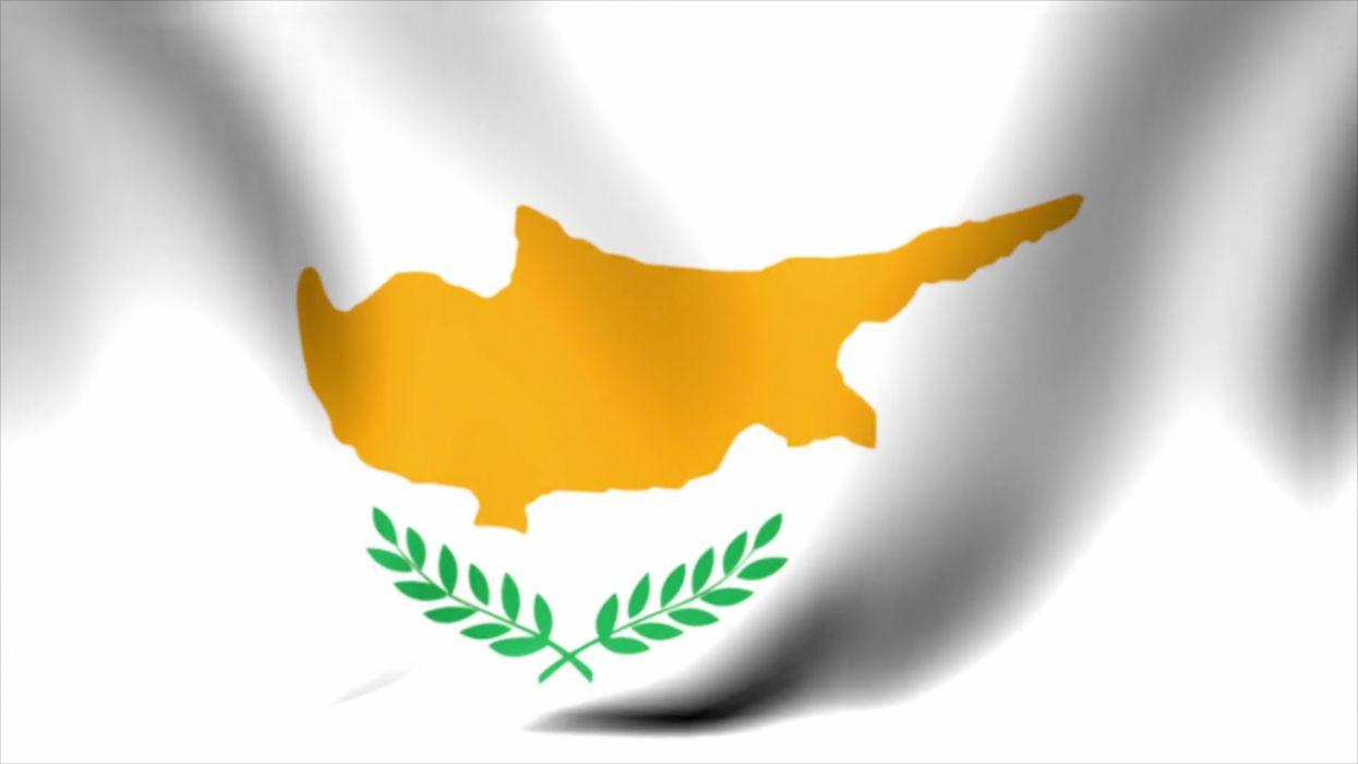 bandera chipre europa wallpaper