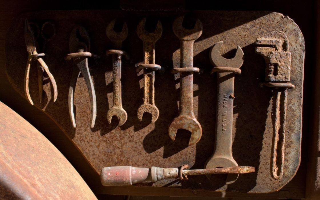 herramientas oxidadas wallpaper
