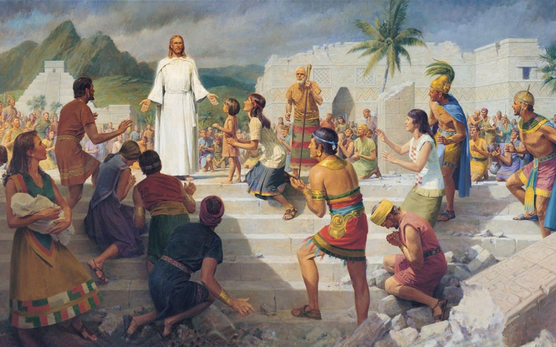 arte pintura jesucristo templo wallpaper