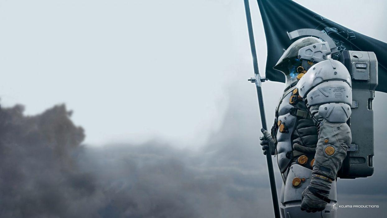 Ludens Hideo Kojima video games Death tranding wallpaper