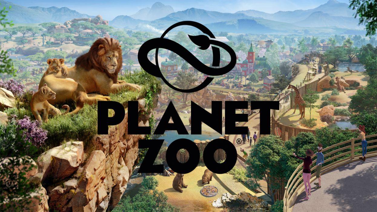 planet zoo videogames wallpaper