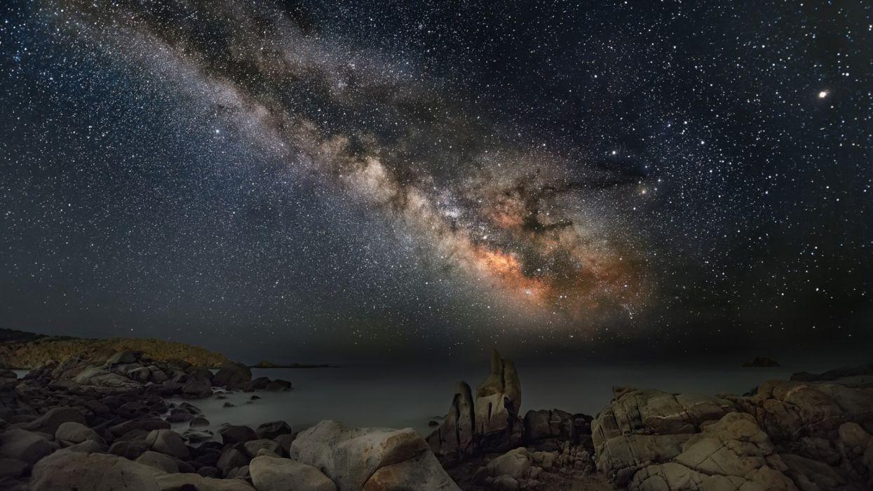 constelaccion estrellas firmamento espacio wallpaper